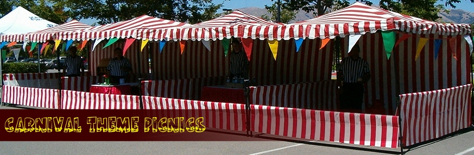 Carnival Theme Picnics by Picnic Planners
